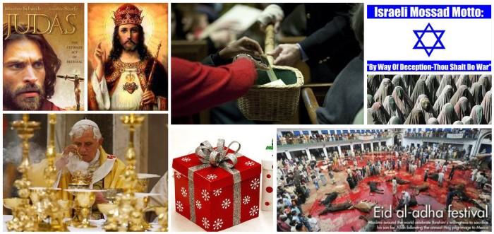 religion collage